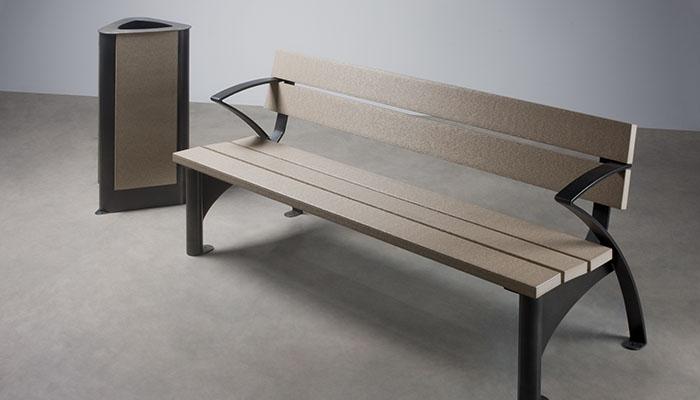 Banco, mobiliario urbano de Krealia