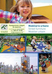 Mobiliario urbano - Catálogos - Krealia Gestión