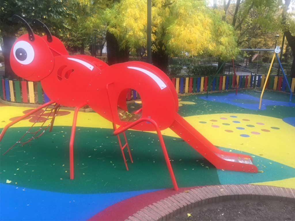 Remodelación del parque El Jardín ALMODOVAR del Campo
