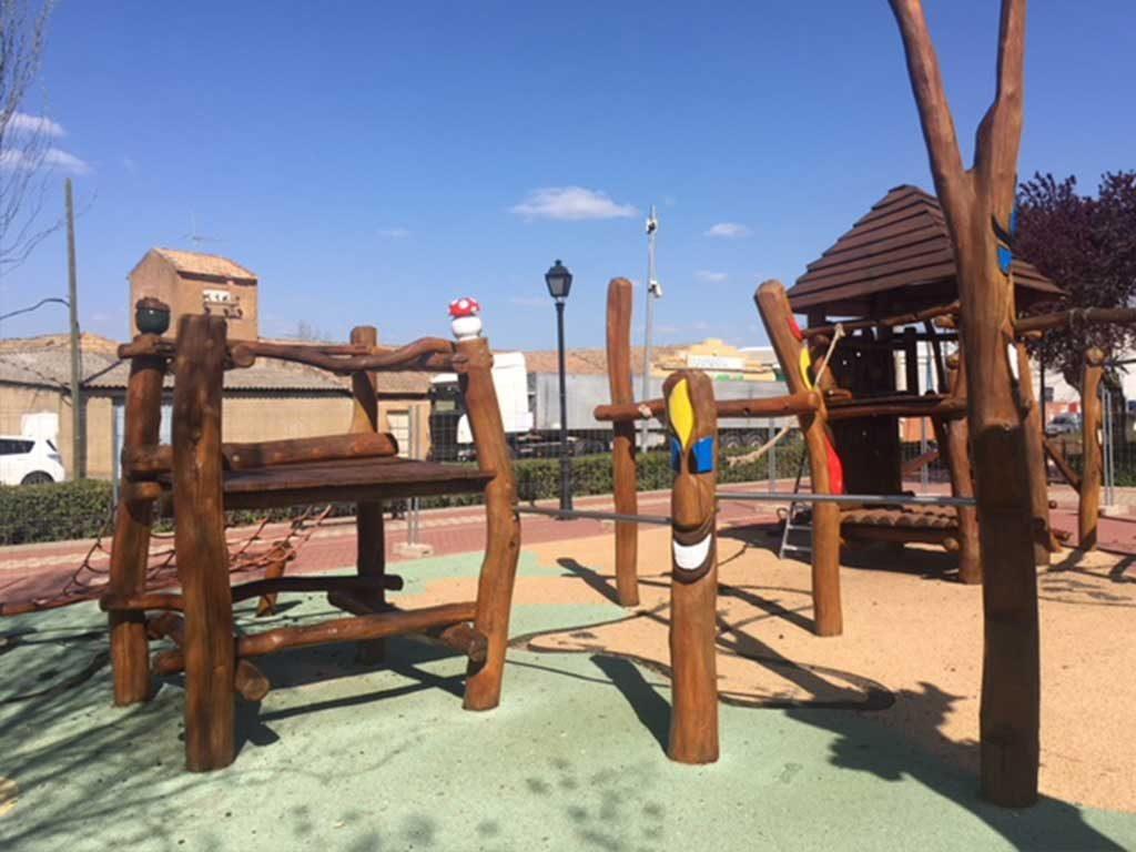 Ampliación del parque municipal de Porzuna