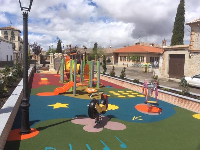 Parque infantil de estimulacion temprana en Ajofrin