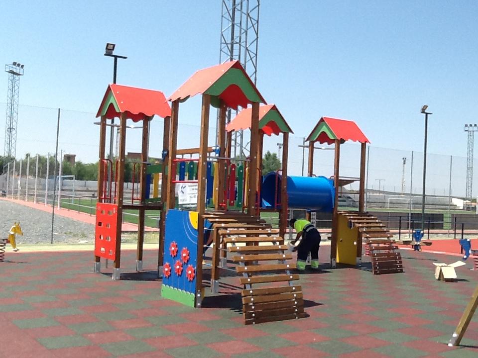 Parque Polan, obra realizada por Krealia Gesitón de Espacios