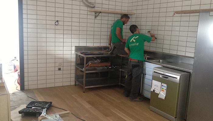 Equipamiento de cocinas de Krealia