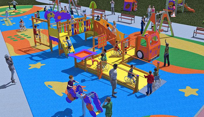 Equipamiento de parques de integración, Krealia Gestión