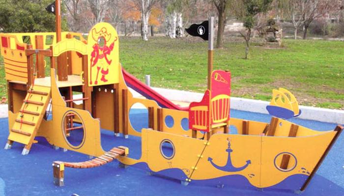 Parques infantiles de Krealia