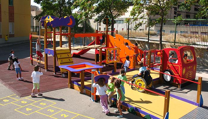 Parque de integración equipado por Krealia Gestión