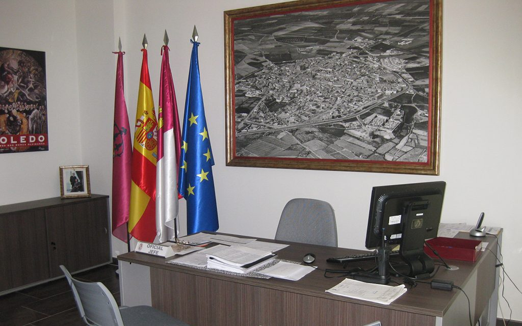 Equipamiento del cuartel de policía de Illescas, Krealia Gestión de Espacios