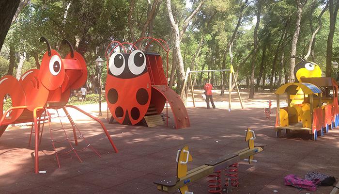 Parque infantil realizado por Krealia