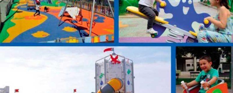 Jugar en parques y jardines es bueno para nuestros hijos y te damos 5 razones