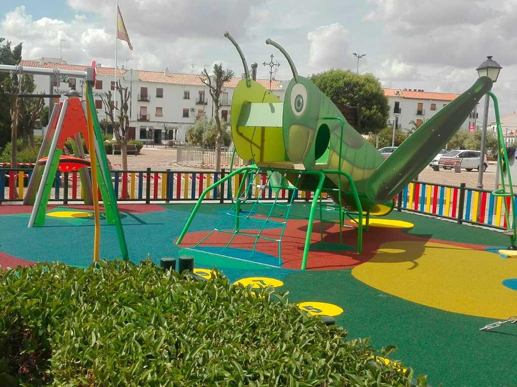 Mejoras y ampliación en el parque de Almagro