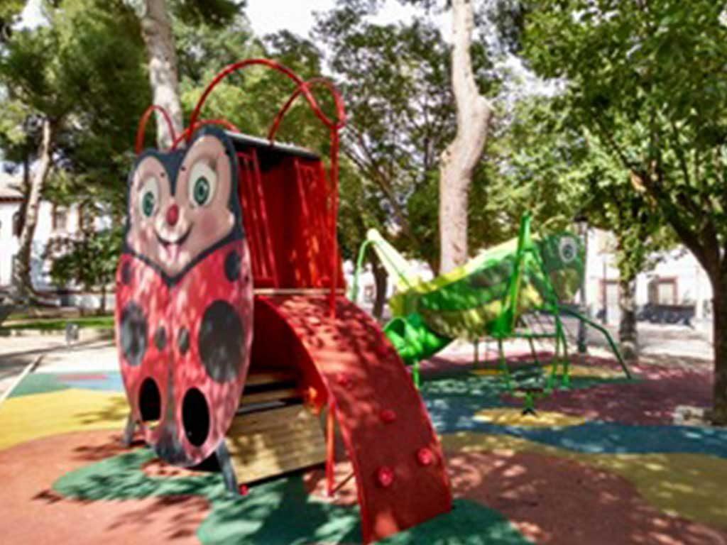Ampliación del parque municipal de Belmonte