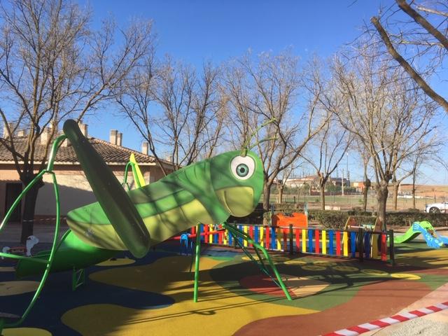 Parque infantil en Turleque
