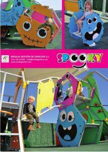 Folleto Krealia Serie Spooky